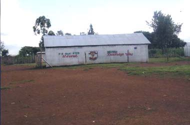 Schoolroom at Eldoret