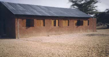 The dormitory at Lodwar
