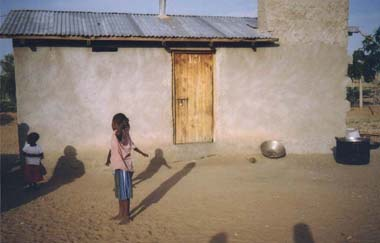 The kitchen, Lodwar compound